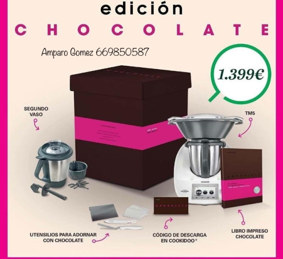 Edición chocolate. Financiación sin intereses