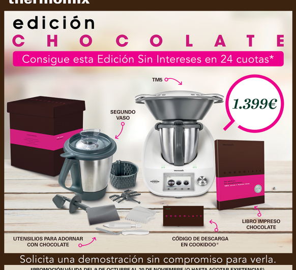 Edicion Chocolate con financiacion especial