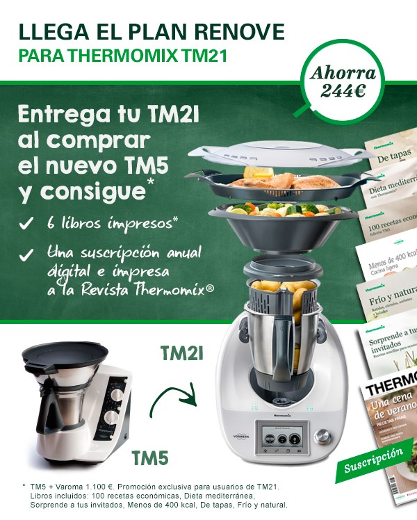 PLAN RENOVE Thermomix® TM21 EN SALAMANCA