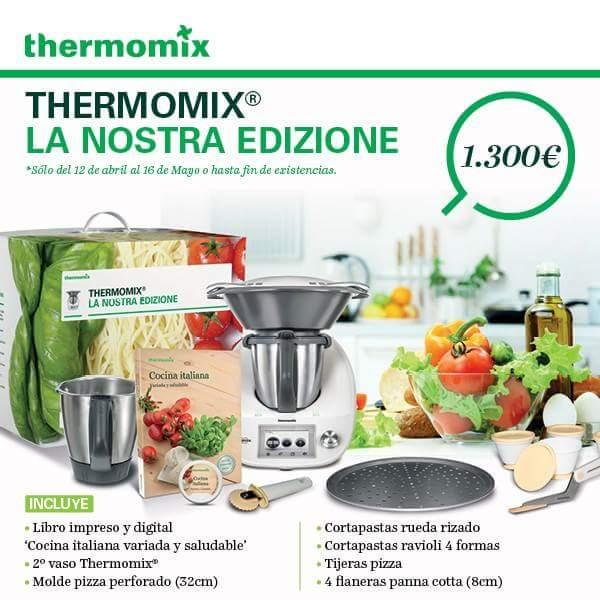 LA NOSTRA EDIZIONE EN Thermomix® !!! SEGUNDO VASO PARA TU TM5