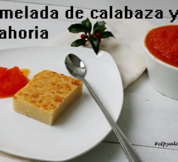Mermelada de calabaza y zanahoria