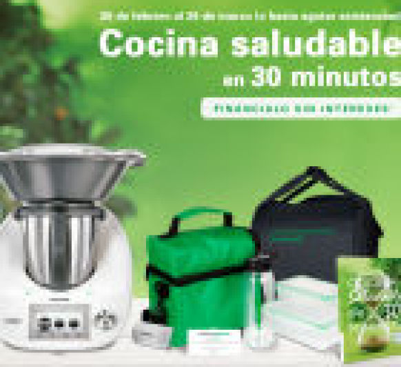 COCINA SALUDABLE SIN INTERESES