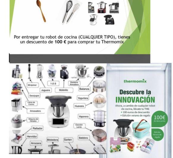 DESCUENTO DE 100€ AL COMPRAR Thermomix® TM6