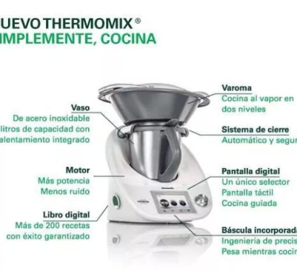 Thermomix® , simplemente cocina......