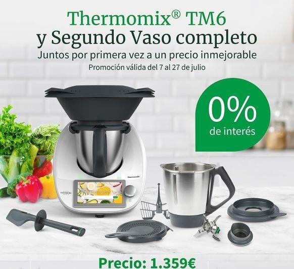 TM6 CON UN 2º VASO POR 1.359 €
