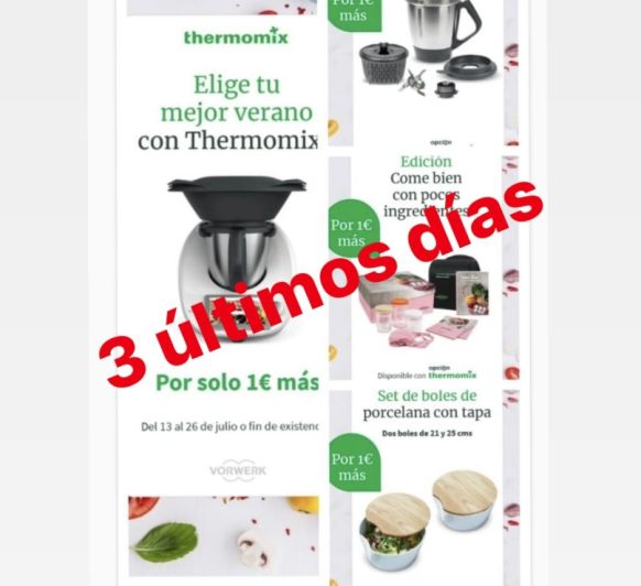 COMPRA Thermomix® TM6 con REGALO SEGUNDO VASO
