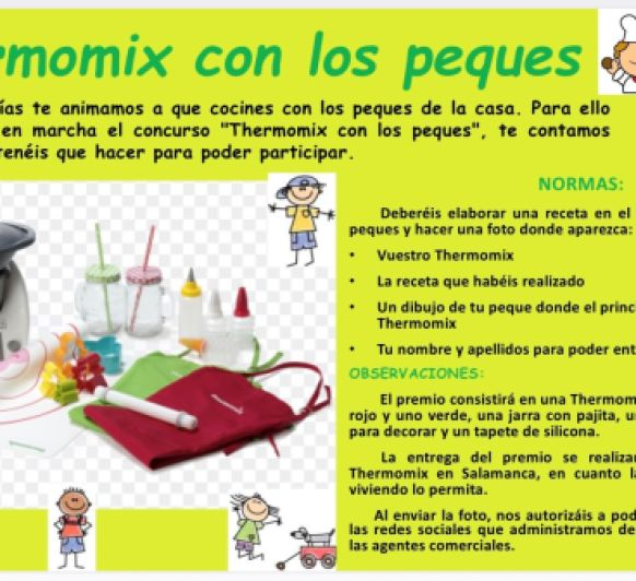 Thermomix® con los peques