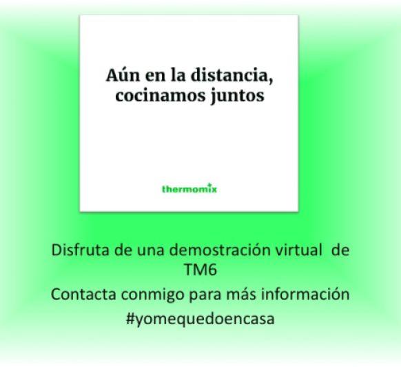 #yomequedoencasa DEMOSTRACION VIRTUAL