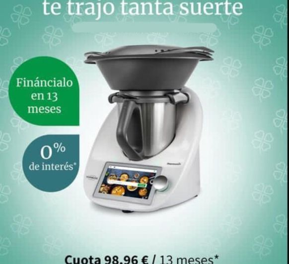 Thermomix® 0%. Intereses
