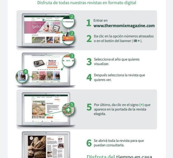 INFORMACIÓN REVISTA DIGITAL #YoMeQuedoEnCasa