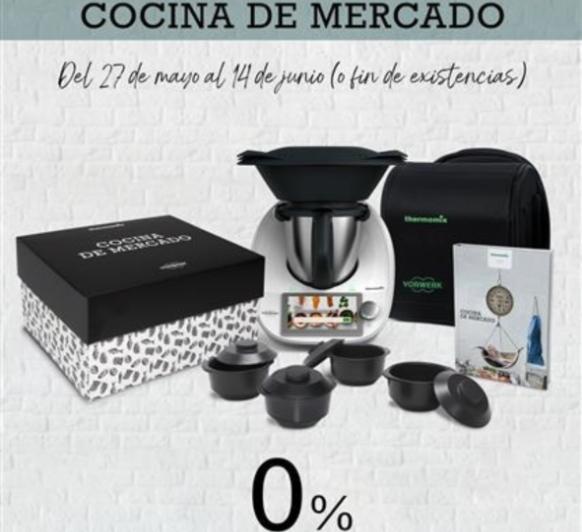 COMPRA Thermomix® TM6 -NUEVA EDICIÓN 0% -COCINA DE MERCADO-